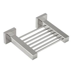 Stainless Steel Quadro Soap Basket