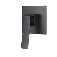 Aguzzo Cortina Wall mounted shower mixer - Matte Black