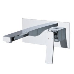 Cortina Wall Mounted Shower Mixer with Spout