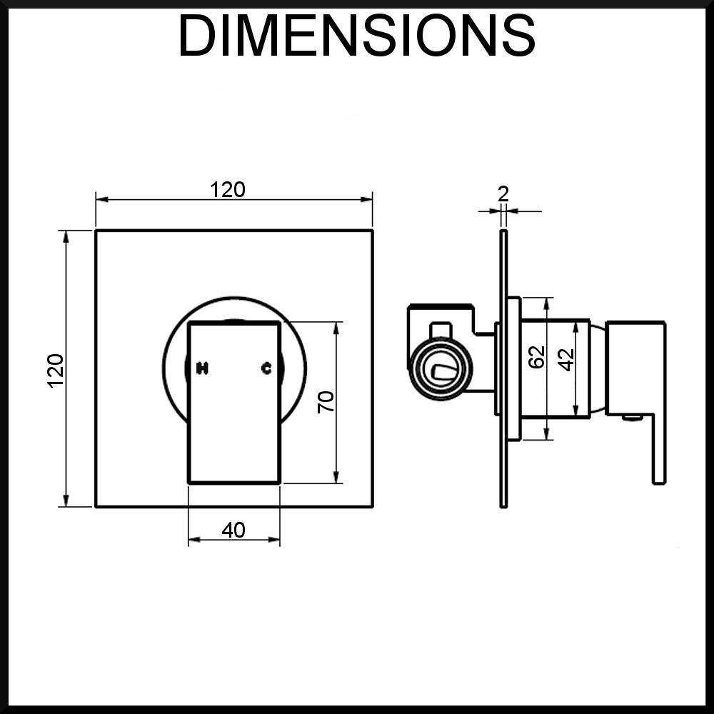 Quadro-Shower-Mixer-Dimensions