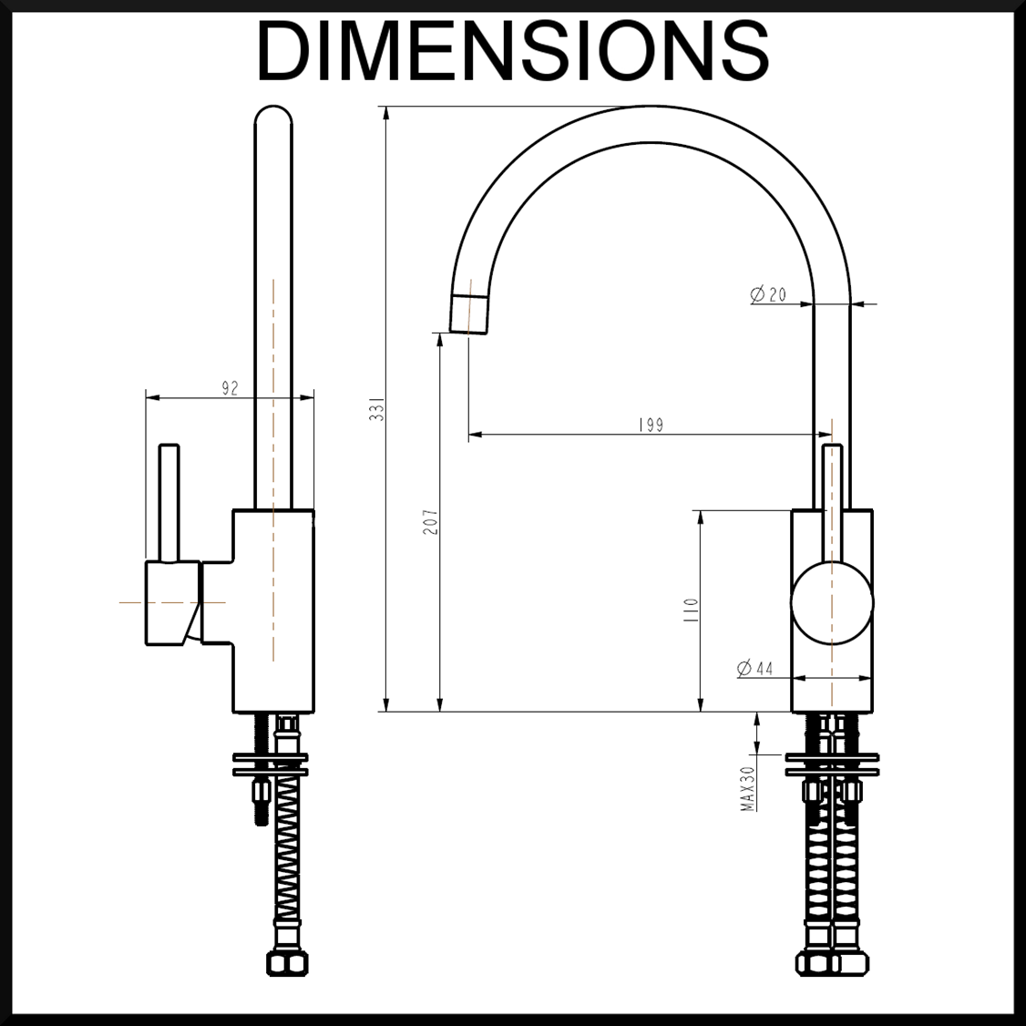 Luca-dimensions-tap-mixer-polished-chrome
