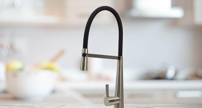 kitchen sink, tapware, sink mixers, matte black, chrome, stainless steel